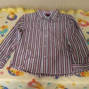Boys Tommy Hilfiger button up shirt boys size 7